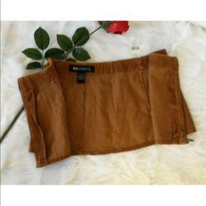 Blue Asphalt Skirts - Blue Asphalt Sz 5 Juniors Mini Wrap Skirt Corduroy